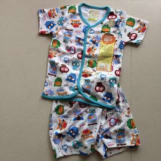 Baby apparel (Open front tshirt and short pants