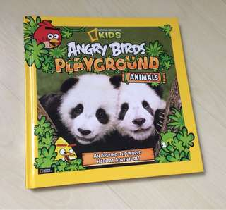 Angry Birds National Geographic Kids book