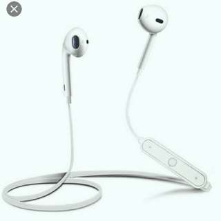 wireless earphone earpod s6 android iphone #oct10