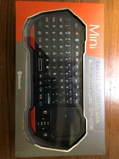 Mini Bluetooth keyboard with build in touch pad