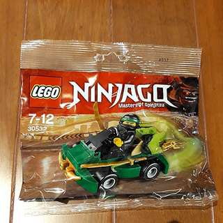 Lego 30532 Ninjago Turbo Racer.