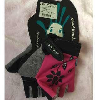 Good Hand Gel Bike Half finger Gloves Breathable Shockproof Short Glove for kids