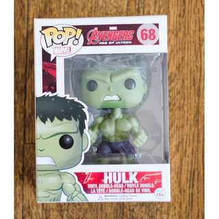 Original PoP! Avengers age of ultron HULK bobble-head Vinyl