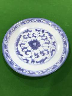 Qing Dynasty Plate
