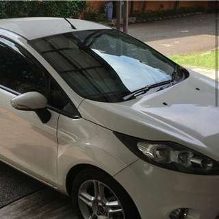 FORD FIESTA 1.6 S AT 2012 white