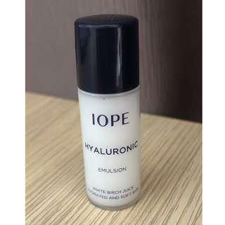 IOPE Hyaluronic Emulsion (Sample)