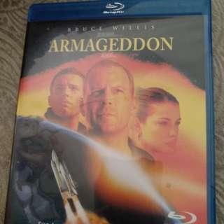 Blu ray, Original, Armageddon
