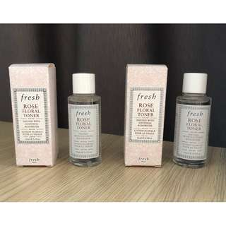 FRESH Rose Floral Toner (Sample)