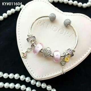Pandora Bracelet S925 Original + Package with beads