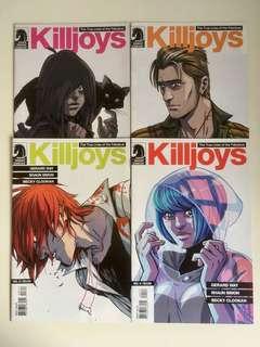 The true lives of the Fabulous Killjoys #1-#4.