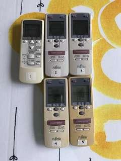 Fujitsu Aircon Remote