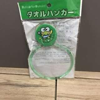 Keroppi 吸盤毛巾架