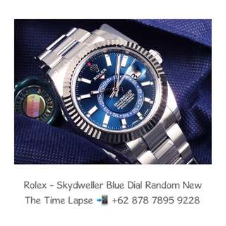 Rolex - Skydweller Blue Dial Stainless Steel 'Random' (New in Box)