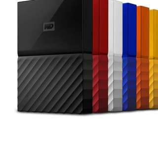 wd my passport series - portable storage hdd ssd