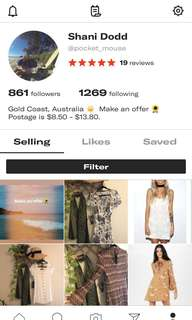Moving to depop 🌻
