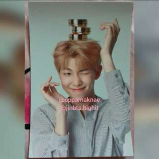 [SALE] VT X BTS RAP MONSTER NEW YEAR LIMITED PHOTO CARD