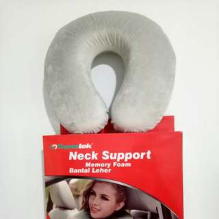 Bantal leher neck support memory foam high quality