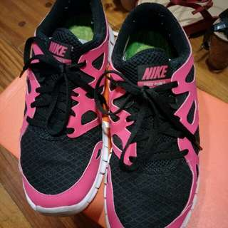 Nike Free Run rubber shoes for Womens