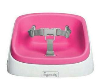 Ingenuity SmartClean Toddler Booster Seat - Pink