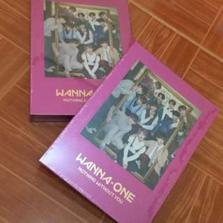 ON HAND SEALED ALBUM WANNA ONE  NOTHING WITHOUT YOU (PINK VERSION, PURPLE VERSION)