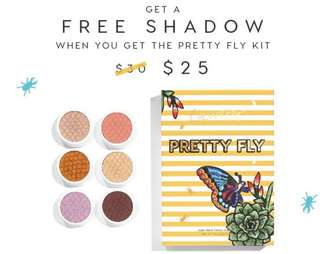 [PROMO🎀] Colourpop promotion buy a pretty fly sss collection & get a free sss po