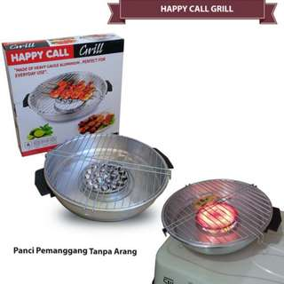 Magic Roaster Happy Call Fancy Pan Pemanggang Tanpa Arang