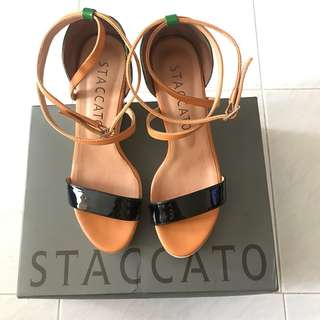 Staccato Dots wedge 女裝高跟鞋4.5 inches