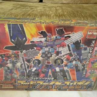 TRANSFORMERS TOYS R US GOD FIRE CONVOY GIFTSET