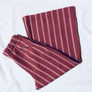 Pastel Stripes Cullotes