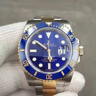 Rolex Submariner Blue Gold (1:1)
