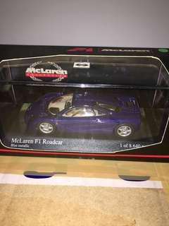 1/43 McLaren F1 Roadster. Minichamps.