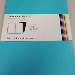 MOLESKINE notebook (set of 2 Plain notebook)