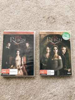 Reign Seasons 1&2 Bundle OR Individual