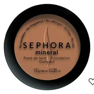 NEW Shepora mineral foundation compact powder