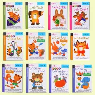 12pc Kumon Pre-School Book - Brand New