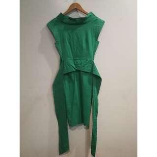 Rajo Laurel x Plains & Prints Green Dress