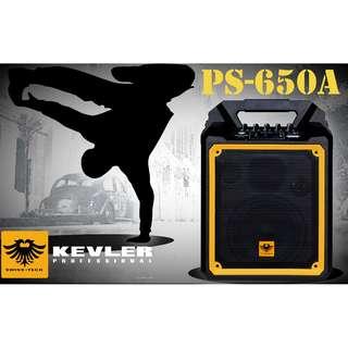 Kevler Swiss tech PS-650A Portable Bluetooth Speaker