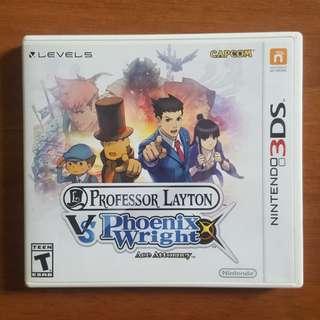 Professor Layton VS Phoenix Wright (Nintendo 3DS)