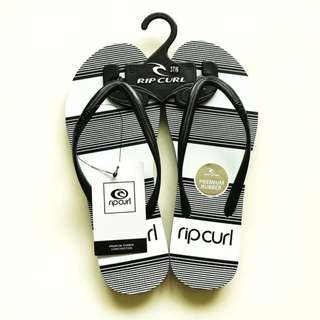 BNWT Newest collection Rip Curl Slippers Rip Curl Flip Flops Sandals Ripcurl Black White Not Havaianas