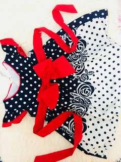 Red & Blueblack Dress