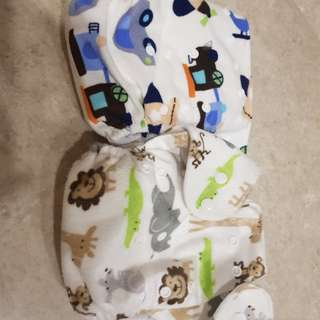 Baby reusable diapers / training pants