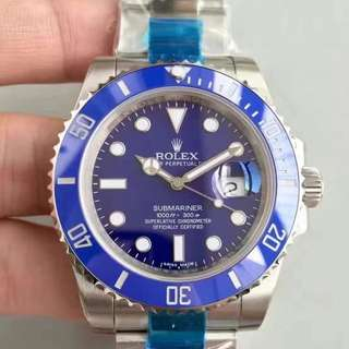 Rolex Submariner Blue Ceramic Bezel