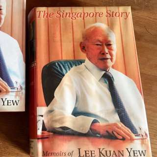 Lee Kuan Yew Book,$8