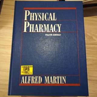 Physical Pharmacy 4th Ed Alfred Martin