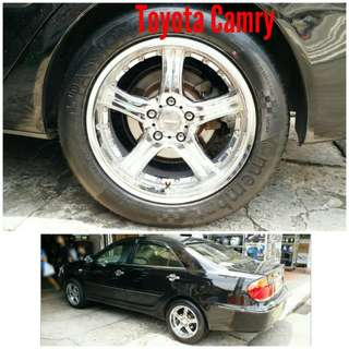 Tyre 225/55 R17 Membat on Toyota Camry 🐕 Super Offer 🙋♂️