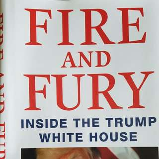 FIRE AND FURY - M. WOLFF