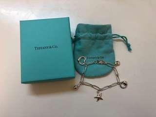 Tiffany 純銀手鏈(清櫃,不議價)