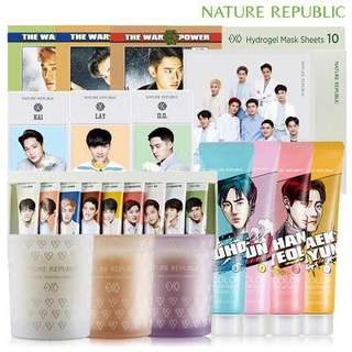 EXO X NATURE REPUBLIC