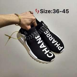 Adidas  类 Human Race 人类菲董聯名款情侶鞋36-45