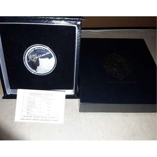 Malaysia 50th Anniversary of National Museum Silver Proof Coin 2013